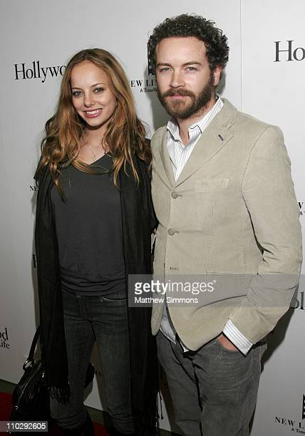 Bijou Phillips and Danny Masterson during Hollywood Life Magazine Celebrates Little Children at Pacific Design Center in West Hollywood California...