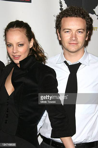 Bijou Phillips and Danny Masterson during Mean magazine celebrates its March/April issue at LAX Night Club in Hollywood California United States