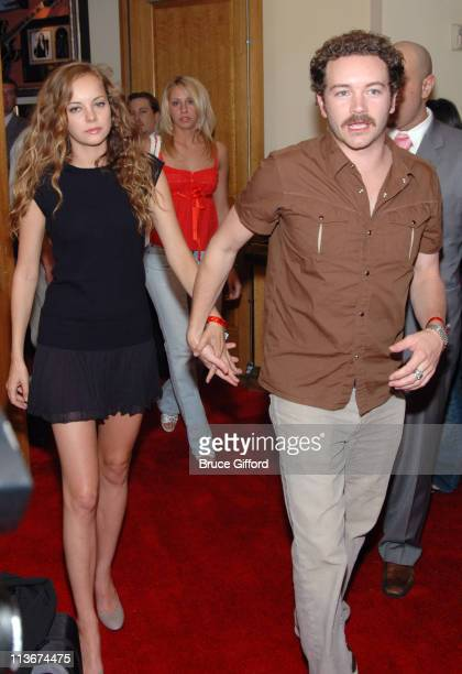 Bijou Phillips and Danny Masterson during STUFF Magazine Music Issue Weekend Red Carpet at Body English at The Hard Rock Hotel and Casino Resort at...