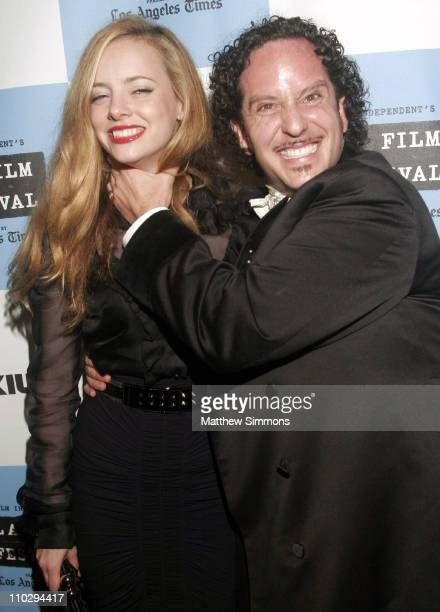 """Bijou Phillips and Jeremy Kasten during 2007 Los Angeles Film Festival - """"Wizard of Gore"""" - Arrivals at Majestic Theater in West Los Angeles,..."""