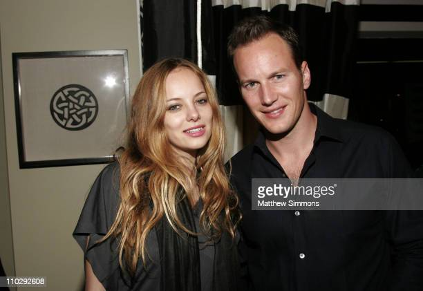Bijou Phillips and Patrick Wilson during Hollywood Life Magazine Celebrates Little Children at Pacific Design Center in West Hollywood California...