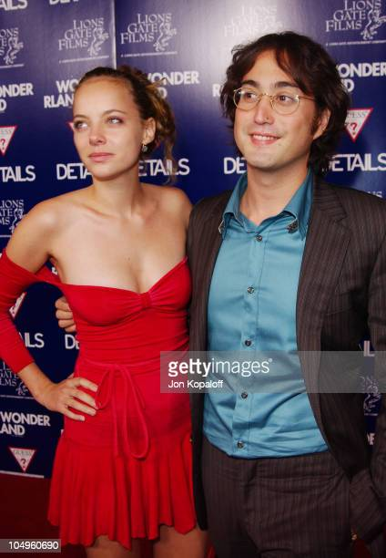Bijou Phillips and Sean Lennon during Wonderland Hollywood Premiere at Grauman's Chinese Theater in Hollywood California United States