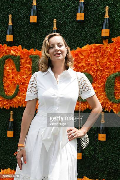 Bijou Phillips attends 9th Annual Veuve Clicquot Polo Classic at Liberty State Park on June 4 2016 in Jersey City New Jersey