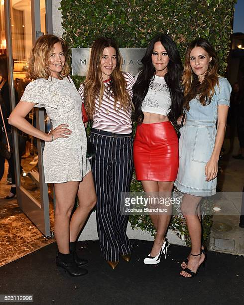 Bijou Phillips Dani Stahl Allison Melnick and Sara Howard attend Marc Jacobs And Nylon Magazine Celebrate #PATCHMARC at Marc Jacobs on April 21 2016...