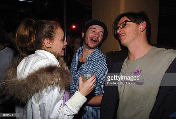 Bijou Phillips Danny Masterson and Donovan Leitch