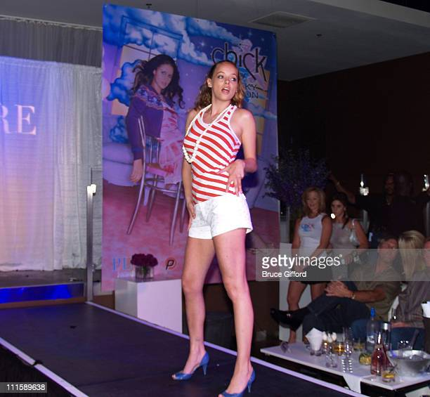 Bijou Phillips during 1st Anniversary Chick by Nicky Hilton Fashion Show at Caesars Hotel and Casino - Pure Nightclub in Las Vegas, Nevada, United...