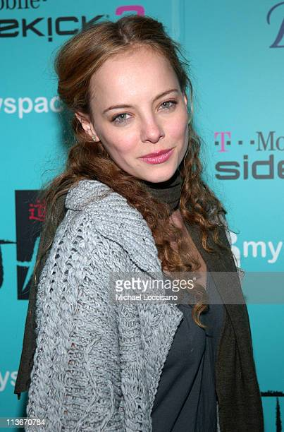 Bijou Phillips during 2007 Park City MySpace Nights at Tao Day 1 at Harry O's in Park City Utah United States