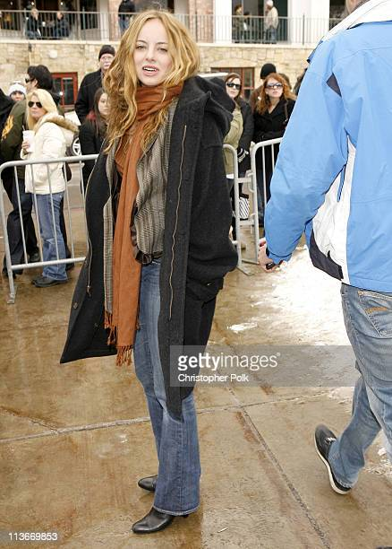 Bijou Phillips during 2007 Park City Seen Around Town Day 3 at Streets of Park City in Park City Utah United States