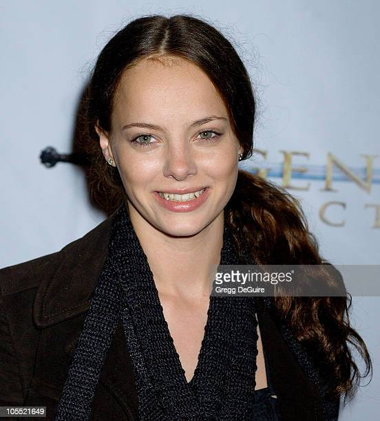 Bijou Phillips during Annie Opening Night to Benefit CASA of Los Angeles Arrivals at Pantages Theatre in Hollywood California United States