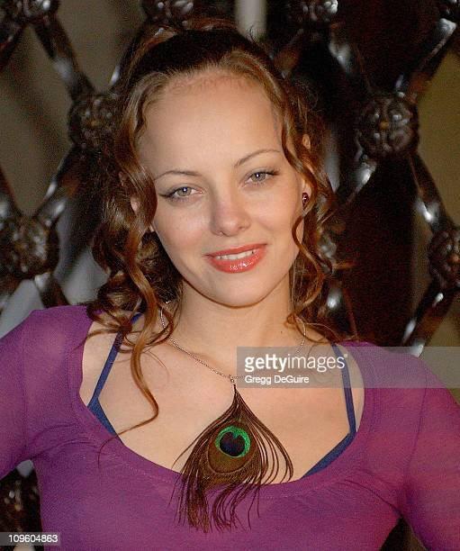 Bijou Phillips during Bijou Phillips and Kip Pardue on the Set of The Wizard of Gore in Los Angeles February 27 2006 at Park Plaza Hotel in Los...