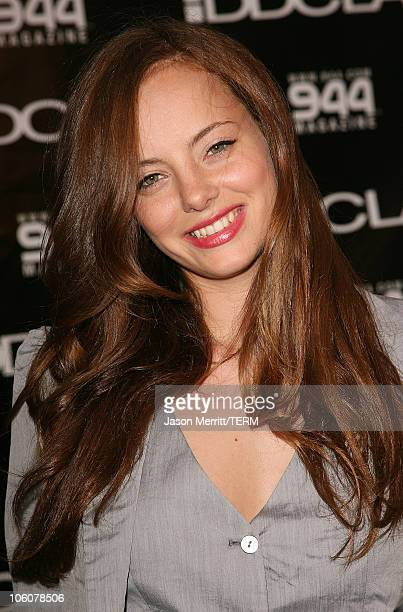 Bijou Phillips during DDCLAB LA Boutique Opening June 6 2006 at DDCLAB in Los Angeles California United States