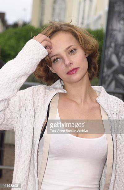 Bijou Phillips during Deauville 2001 The Bully Premiere at Centre International Deauville CID in Deauville France