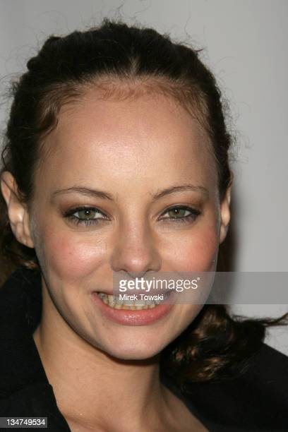 Bijou Phillips during Mean magazine celebrates its March/April issue at LAX Night Club in Hollywood California United States