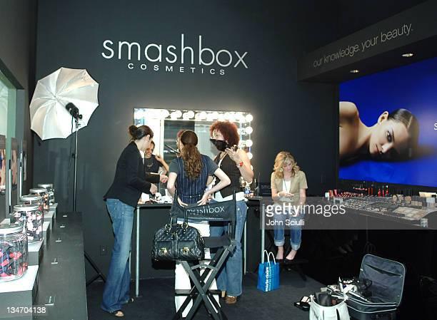 Bijou Phillips during MercedesBenz Fall 2006 LA Fashion Week at Smashbox Studios Drive Your Future Design Awards LA Press Lunch at Smashbox Studios...