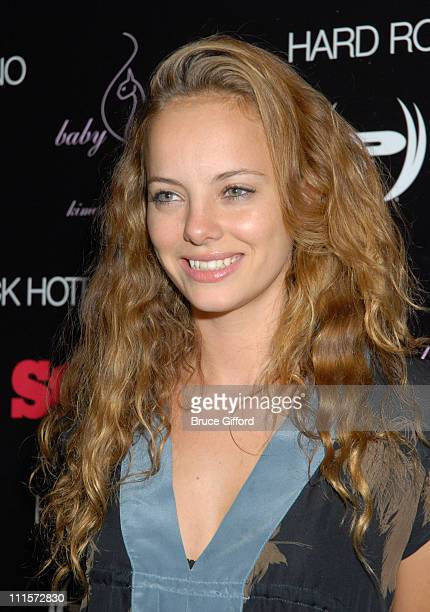 Bijou Phillips during Phat Farm Baby Phat and Stuff Magazine Rock 'N Roll into Hard Rock Hotel and Casino for its' Music Issue Weekend at Hard Rock...
