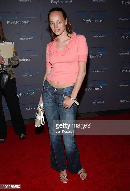 Bijou Phillips during PlayStation 2 Offers A Passage Into The Underworld Arrivals at Belasco Theater in Los Angeles California United States