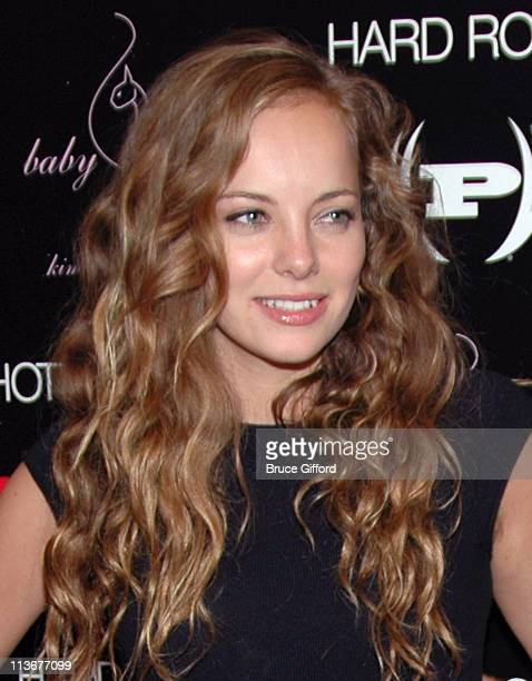 Bijou Phillips during STUFF Magazine Music Issue Weekend Red Carpet at Body English at The Hard Rock Hotel and Casino Resort at Body English at The...