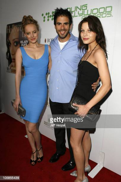Bijou Phillips Eli Roth and Lauren German during Movieline's Hollywood Life 9th Annual Young Hollywood Awards Red Carpet at Hendy Fonda Theater in...