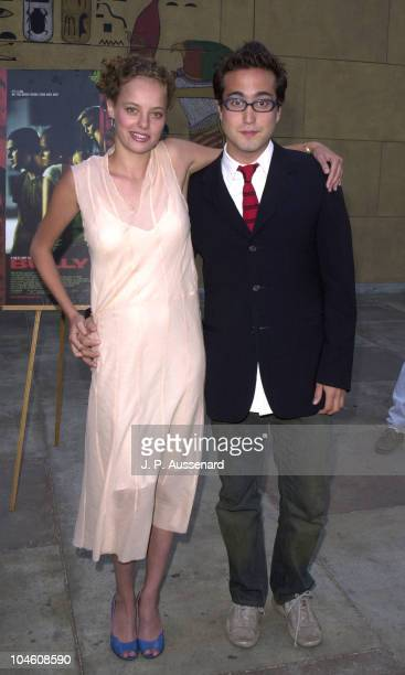 Bijou Phillips Sean Lennon during Bully Los Angeles Premiere at Egyptian Theater in Hollywood California United States