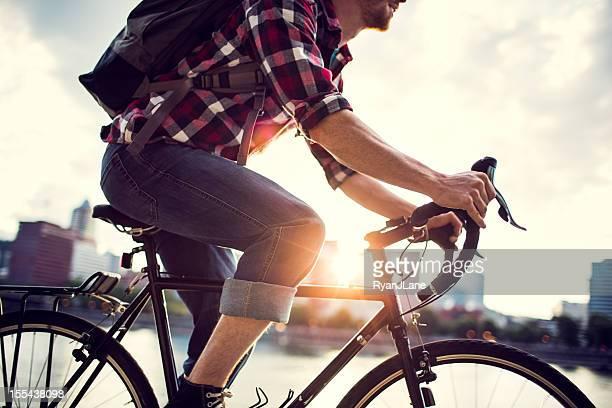 Bicicleta Commuter en Portland, Oregon
