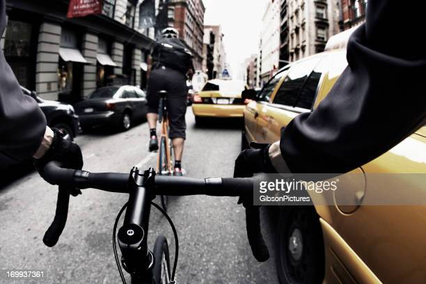 Bike Courier in New York City