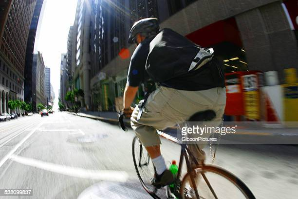 Bike Courier in San Francisco