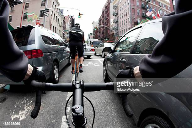Bike Courier in NYC
