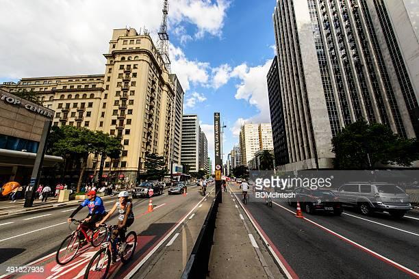 Bike Day, Paulista Avenue, Sao Paulo, Brazil