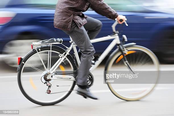 Bike in motion