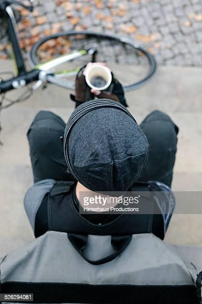 Bike Messenger Coffee Break