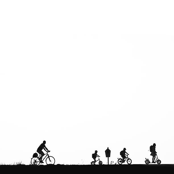 Bike on the dike family with