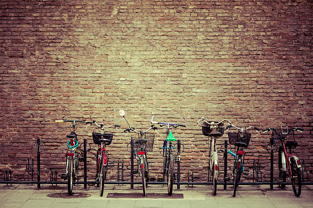 """""""Bike Parking In Bologna, Italy"""" Wall Art"""