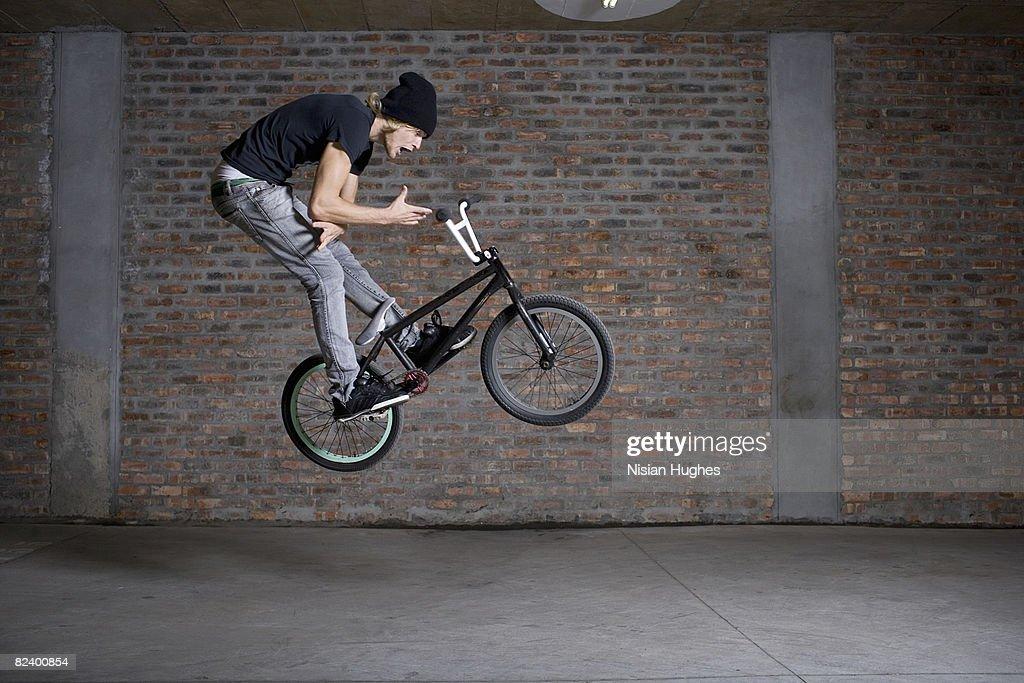 BMX bike : Stock Photo