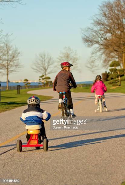 Bike Ride on Riverfront Trail