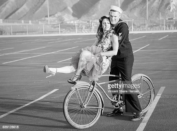 Bike Ride WWII Era Inspired