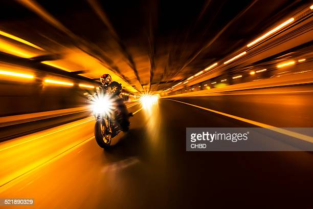 bike rider - motorbike stock photos and pictures