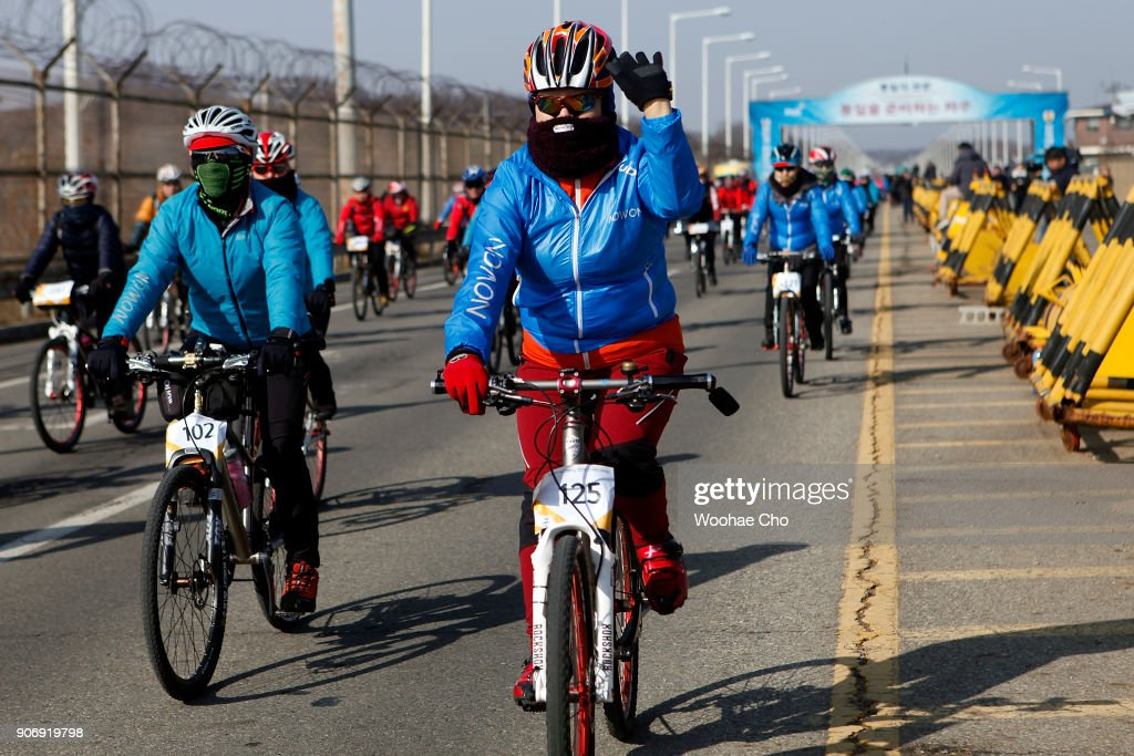 Torch Relay Continues Near DMZ
