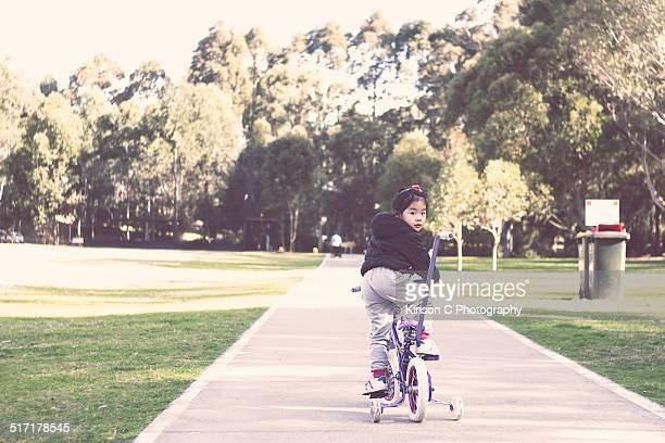 Bike Riding At Park