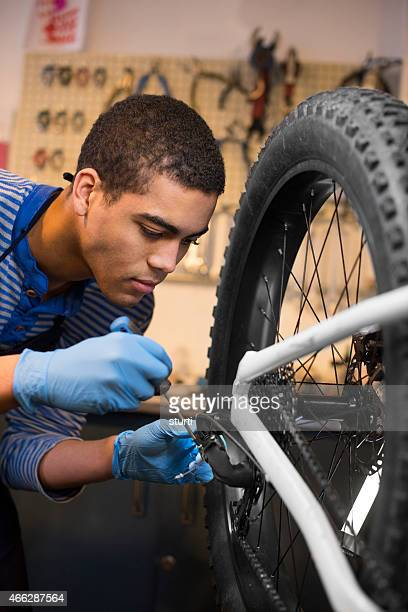 bike shop mechanic