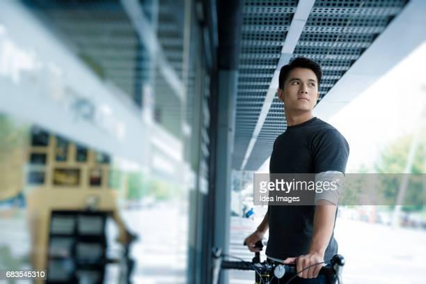 Bike shop owner
