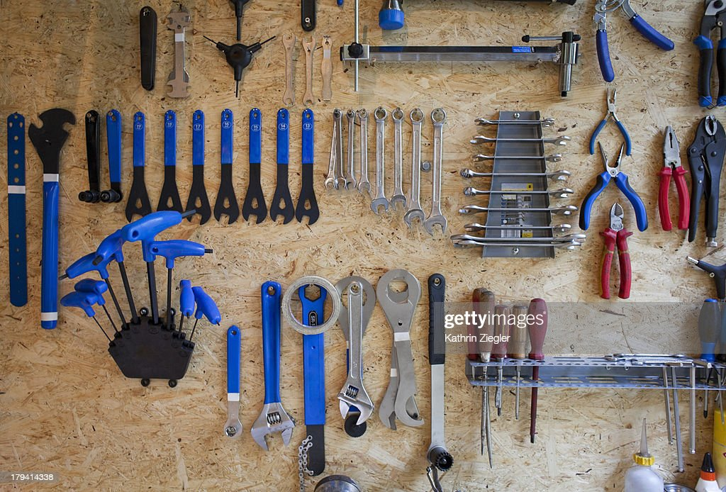bike tools : Stock Photo