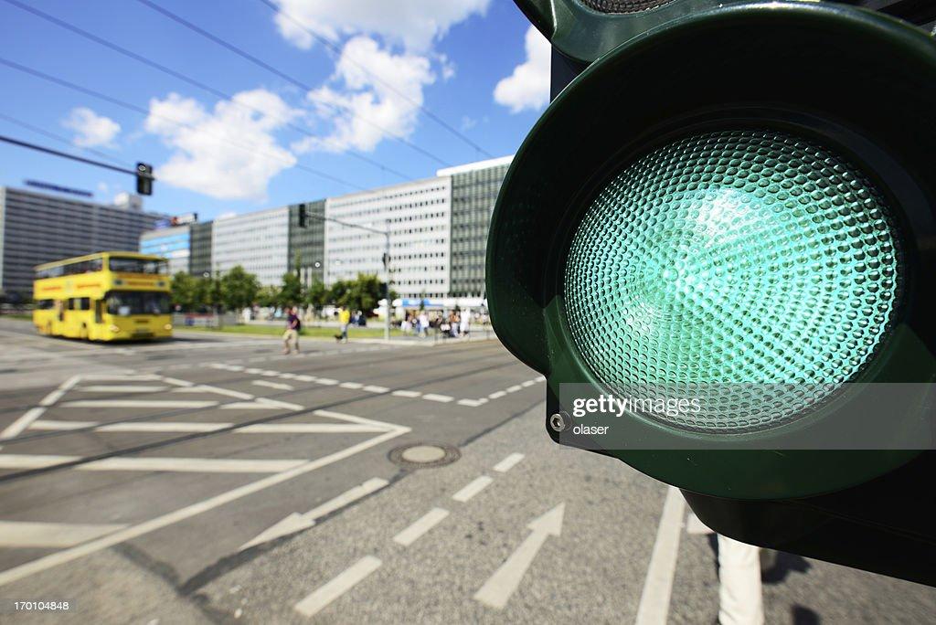 Fahrrad Ampel : Stock-Foto