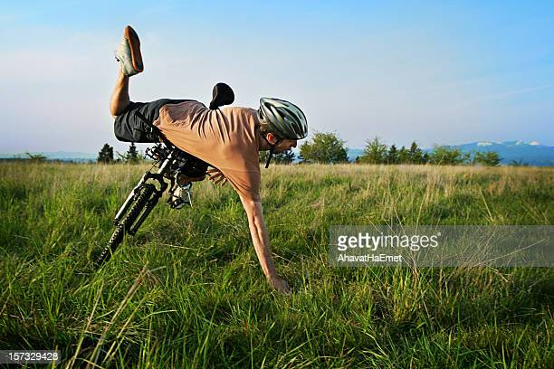 biker crash - crash stock pictures, royalty-free photos & images