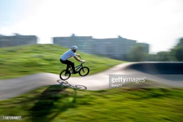 bmx biker - control stock photos and pictures
