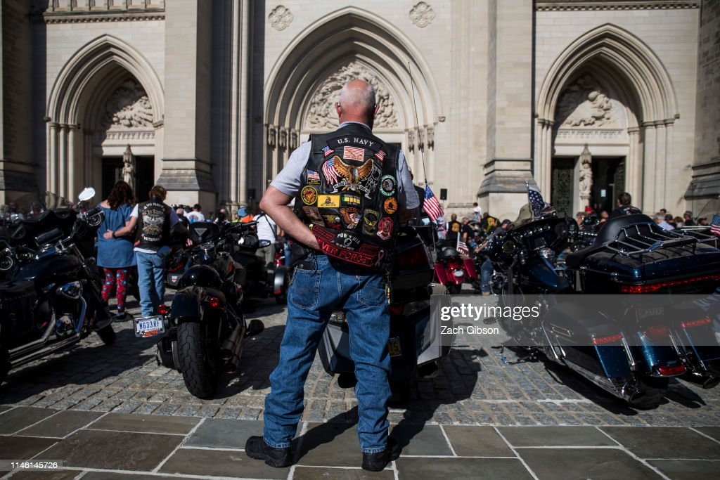 DC: Rolling Thunder Begins Memorial Weekend With The Blessing Of The Bikes