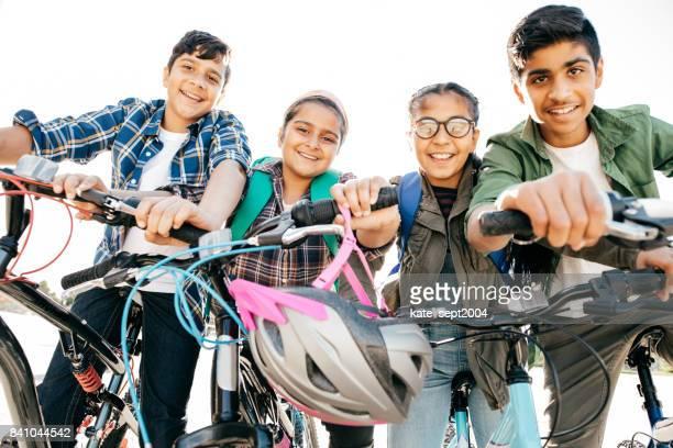 Bikes and teens
