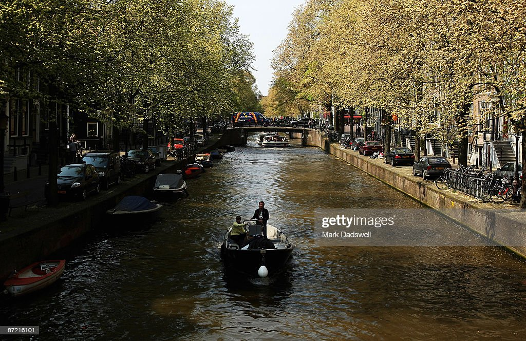 Amsterdam, Bicycle City : News Photo