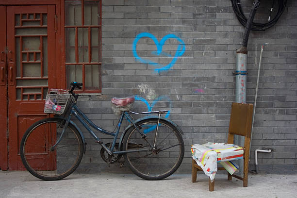 Bikes In Love Wall Art