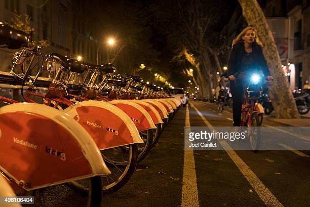 Bikeshare program in Barcelona, Spain
