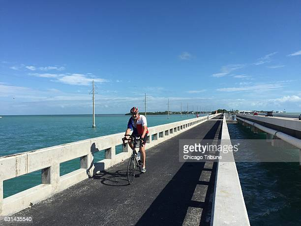 Biking in the Florida Keys is especially fun on stretches where you don't have to worry about riding next to traffic